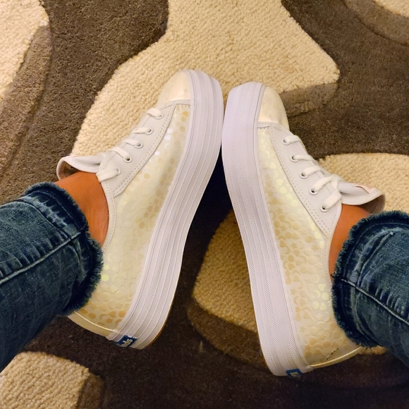 Keds Triple Kick Platform Sneakers